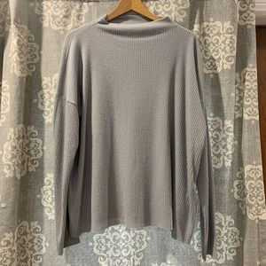 Lucky Brand Grey Long sleeve Top